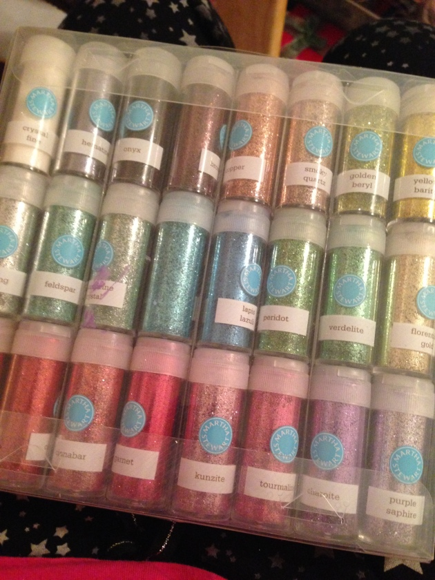 I love me some glitter!
