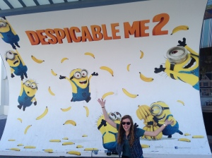 Me being really excited about Despicable Me