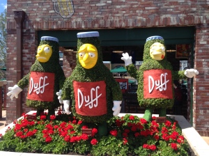 Duff Beer in Springfield
