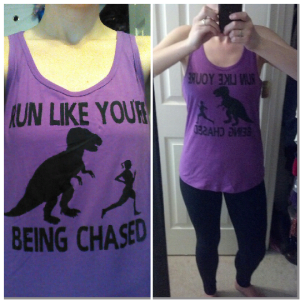 Love this new tank top and leggings I picked up recently from Target. hehe